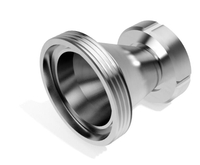Sanitary Stainless Steel Eccentric Thread Female Male Reducer