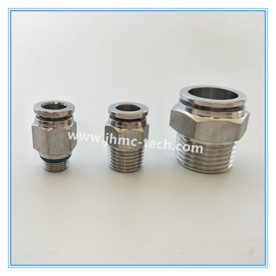 Male Straight Push-in Fitting