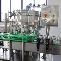 Linear Type Aluminum Can Filling And Sealing Machine
