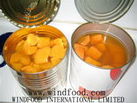 Canned Sweet Potato