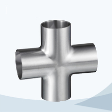 Sanitary 9W hygienic welded equal cross