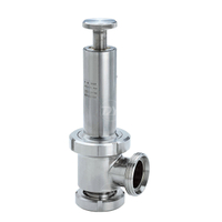 Sanitary Stainless Steel Line Type Pressure Relief Valve