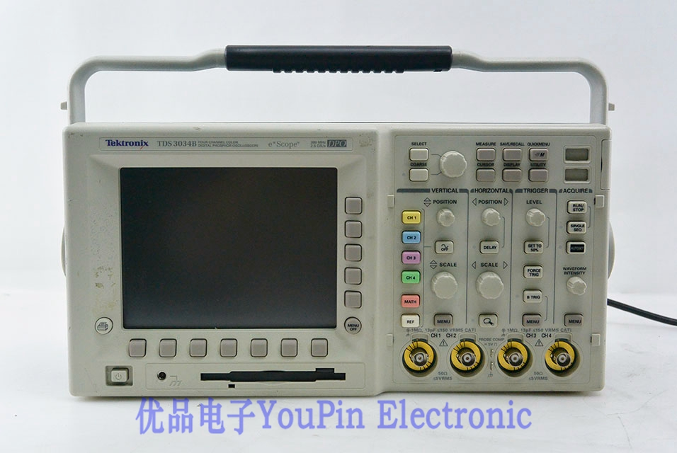 tektronix tds3034b digital phosphor oscilloscope buy tektronix rh en youpinelectronic com Tektronix Digital Oscilloscope Tektronix Stereo Home
