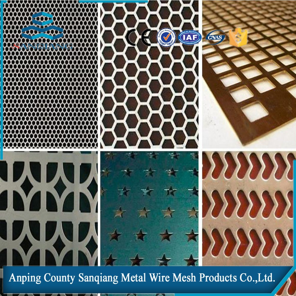 2016 galvanized perforated sheet