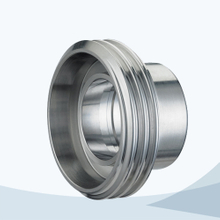 Sanitary pipe fitting union male part