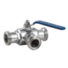 China Sanitary Stainless Steel Male Threaded Ball Valve
