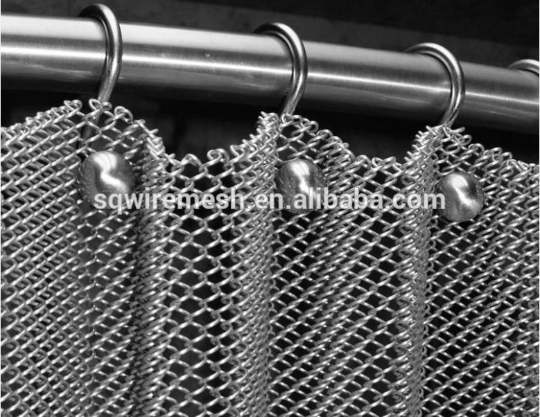 Metal Coil Drapery/Room dovider