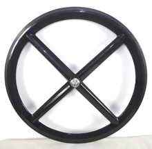 4 SPOKES CARBON WHEELS ROAD WHEELS 50MM
