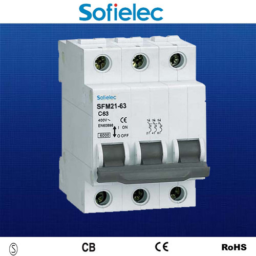 good quality low voltage 3 phase circuit breaker DZ47-63 for house ...