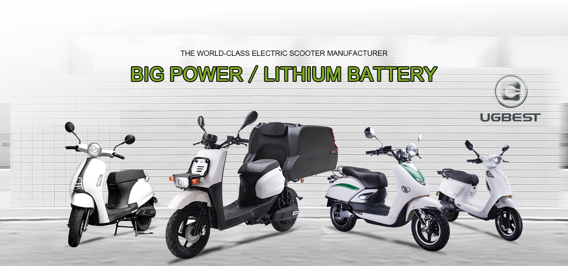 UGBEST BIG POWER LONG RANGE 3000W ADULT ELECTRIC SCOOTER