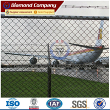 PVC coated/galvanized 9 gauge wire fence (ISO,BV)