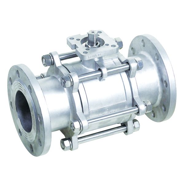 3-PC Flanged End Ball Valve