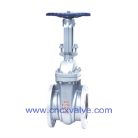 JIS10K Flanged End Cast Steel Gate Valve