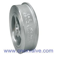 Wafer Type Disco Check Valve Sping Loaded