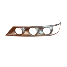 HC-B-1612 Chrome Bezel of Bus Head Lamp for Daewoo BH120