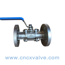 3PC Flanged End Ball Valve