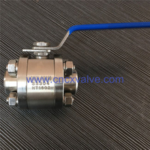 3 Piece Body Forged Floating Ball Valve