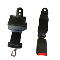HC-B-47039 TWO SHORT POINT SEAT BELT FOR BUS WITH EMARK