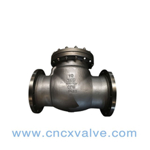 Stainless Steel Flanged Swing Check Valve