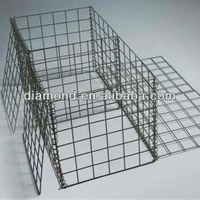 Stone Filled Metal Wire Gabion Box Products For Sale