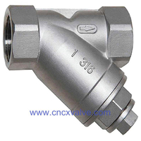 Screwed End Y Type Piston Check Valve