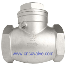 Threaded Swing Check Valve