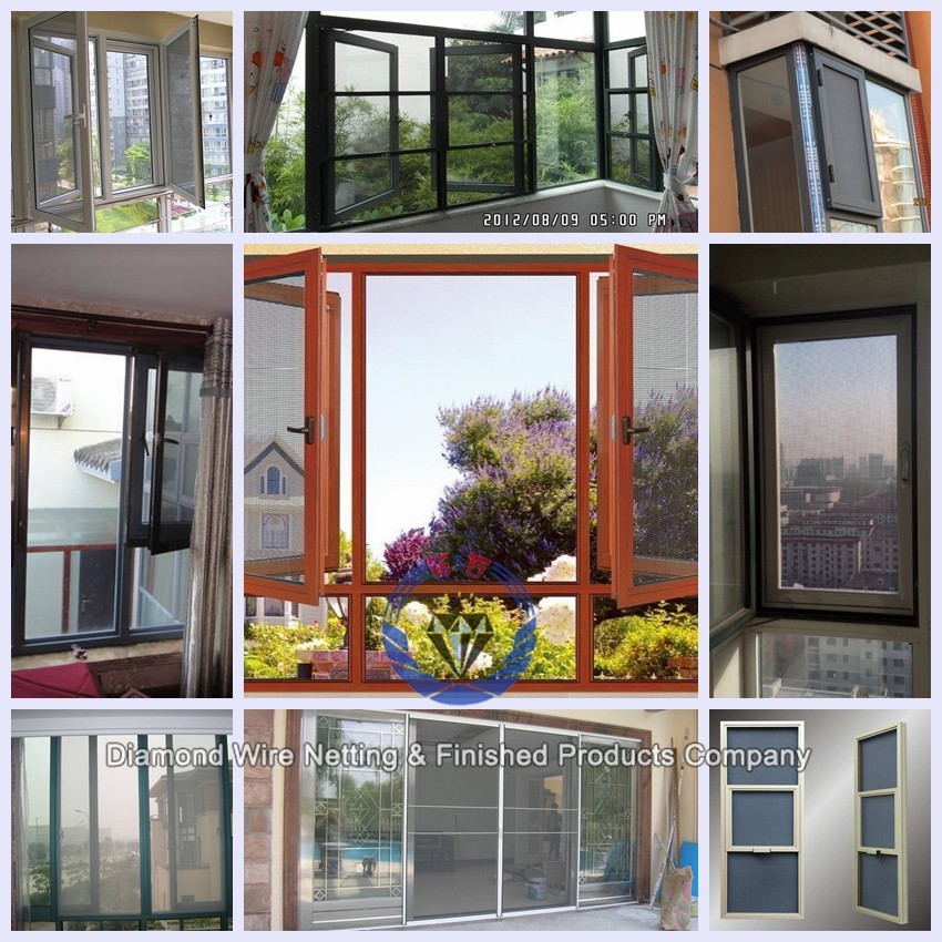 Stainless Steel Wire Mesh Security Mosquito Protection Window Screen ...