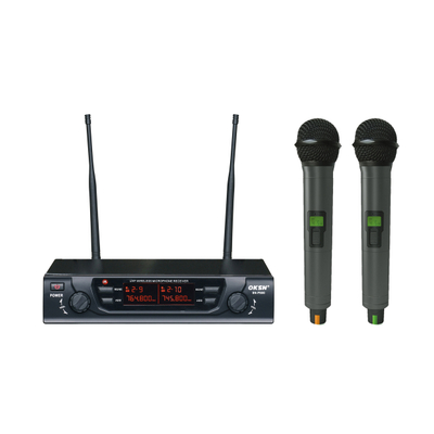 SN-P900 Dual Channels Karaoke UHF wireless Microphone system