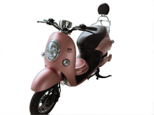 800W Pink electric scooter with LCD display for woman