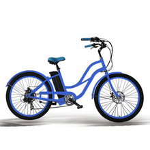 2017 woman beach cruiser e-bike