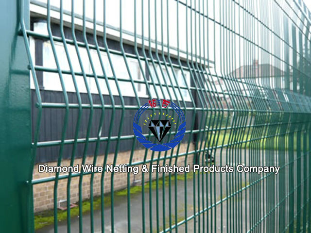High Security Fence /Prison Security Fence - Diamond Wire Netting ...