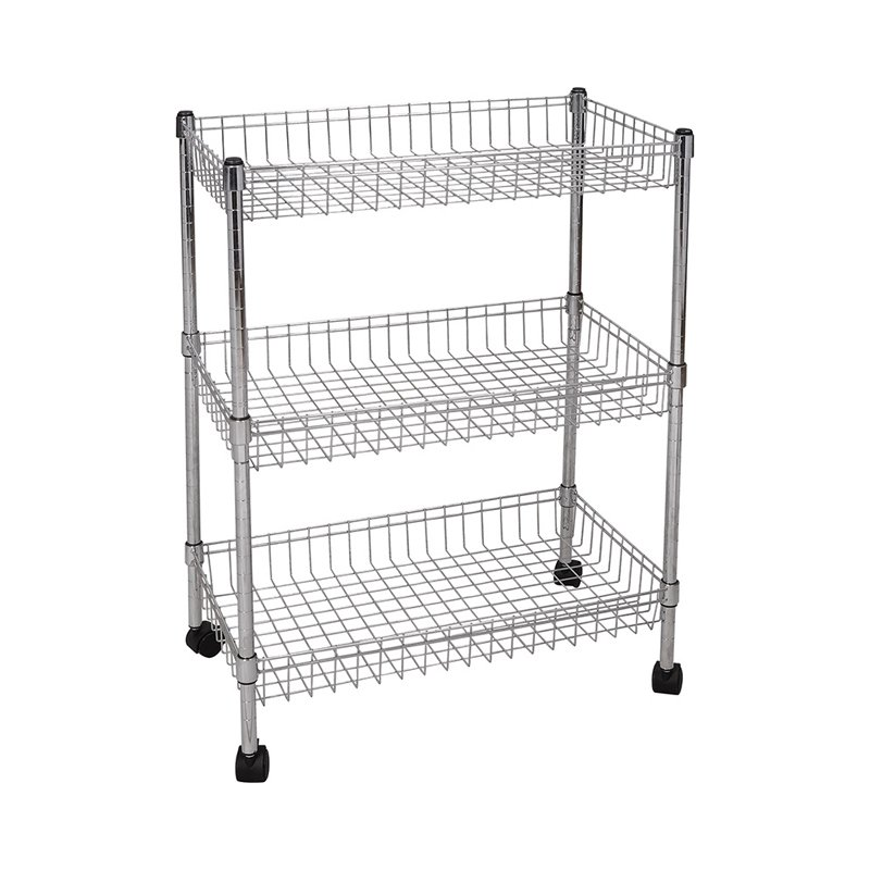 4 Tier Adjustable Heavy Duty Wire Shelving Storage Racks from China ...
