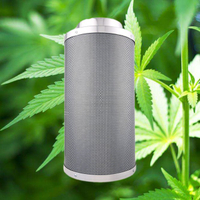 Hydroponic carbon filters for grow tent