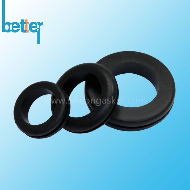 NBR Grommet- Custom Made NBR grommet, Nitrile rubber grommet, Buna N ...