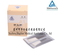 Disposable Sterile Silver Handle Acupuncture Needles