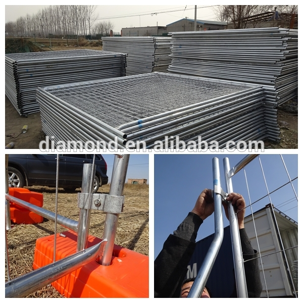 Manufacture temporary fencing panels supplier Melbourne - Diamond