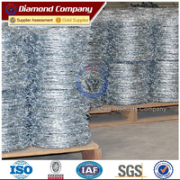 1.8mm galvanized barbed wire/500m barbed wire roll