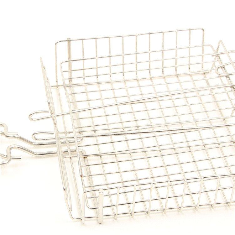 Wire Grill Basket | 2018 Jiukun Stainless Steel Bbq Grill Basket Bbq Grill Wire Mesh