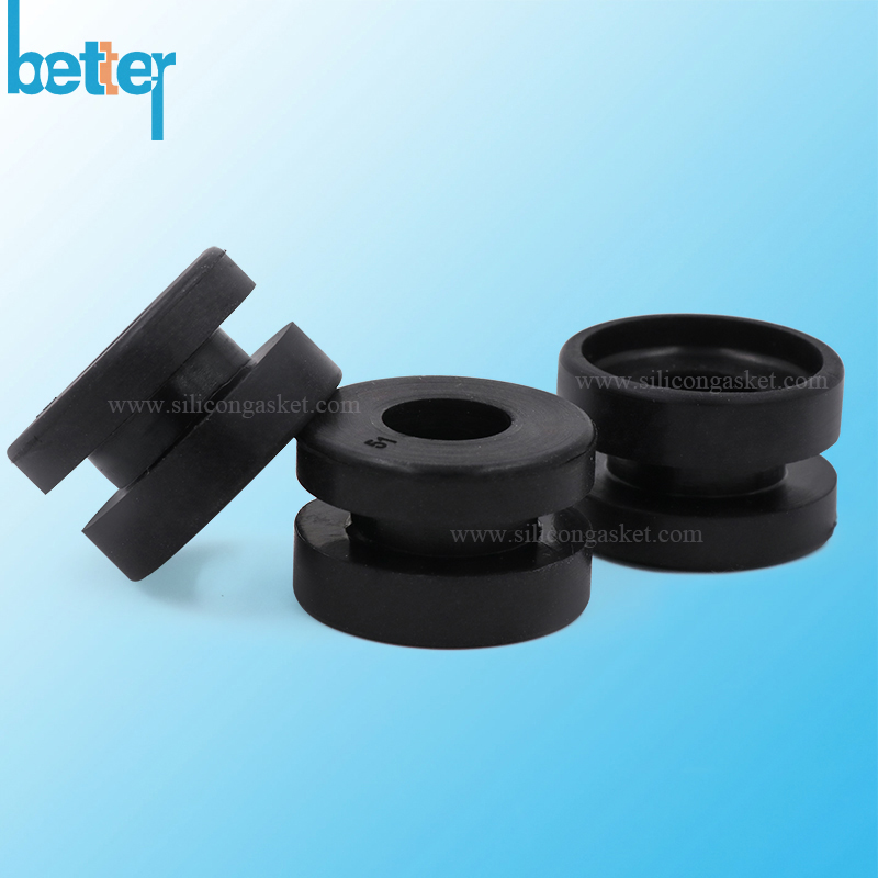 Rubber Cable Grommet- Custom Made Rubber Cable Grommet, rubber hole ...