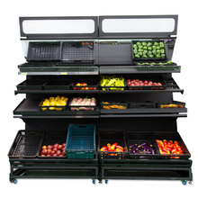 Vegetable shelving system