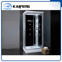 Compact Glass Shower House with Folding Seat (KF-T993)