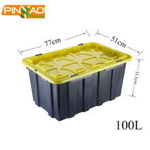Factory Direct Durable Eco Friendly Stackable Plastic Storage Box