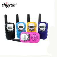 T388 Portable Mini Radio PMR 0.5W Auto Multi-Channels Two Way Radio Walkie Talkie for kids