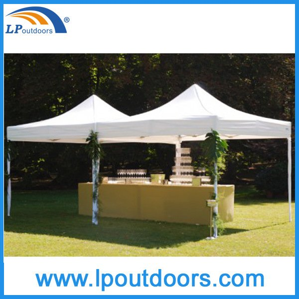 3X3 3X4.5 3X6 Hexagonal Steel Frame Wedding Party Gazebo Tent