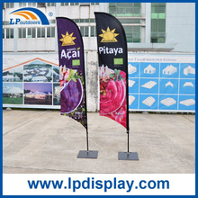 2.8m Customized Feather Flag Advertising Banners for Outdoor Promotion