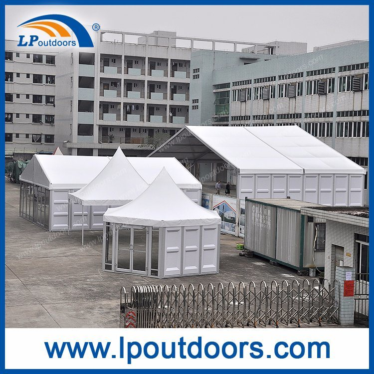 20X50m Outdoor Large Clear Span High Quality Marquee Warehouse Tent with Roller Door