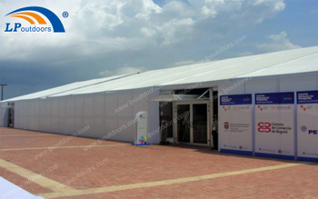 What Size Is Suitable Outdoor Large Aluminum Exhibition Party Tent For A Trade Show