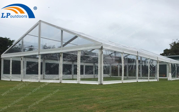 10x20m Full Transparent Outdoor Party Tent Is A Good Choice For Manor