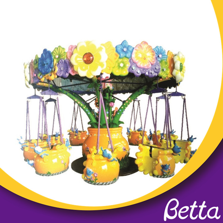 Horses Design Amusement Park Children Al Swivel Chair Merry Go Round