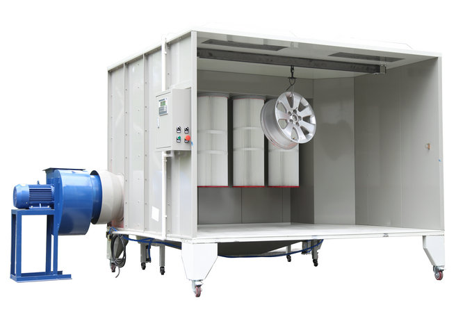Manual Powder Spray Booth COLO-S-2315